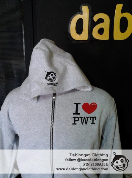 Halfzipper – I Love PWT (Kode: ZILPW)